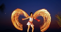 Kauai Entertainment, Hula, Fire and Knife Show