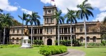 Honolulu Attractions, Iolani Palace, Oahu Attractions