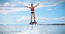 Oahu Things to Do, JetLev Flight